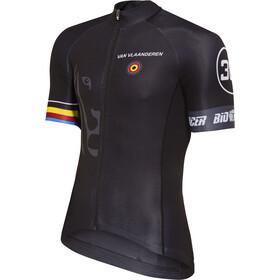 Bioracer Van Vlaanderen Pro Race Jersey Heren, black